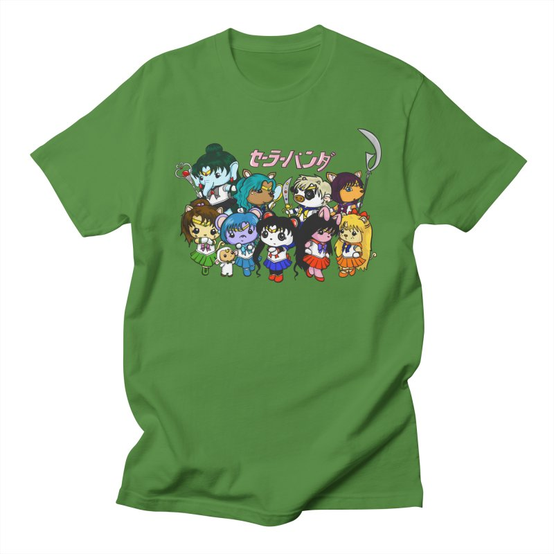Sailor Panda and Friends Men's Regular T-Shirt by Dino & Panda Inc Artist Shop