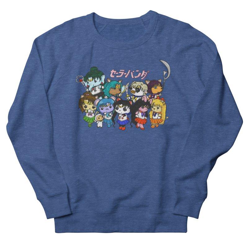 Sailor Panda and Friends Women's French Terry Sweatshirt by Dino & Panda Inc Artist Shop