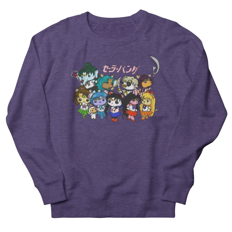Sailor Panda and Friends Men's French Terry Sweatshirt by Dino & Panda Inc Artist Shop