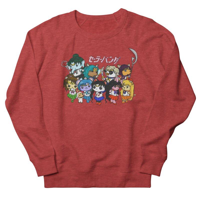 Sailor Panda and Friends Men's French Terry Sweatshirt by Dino & Panda Inc Artist Shop