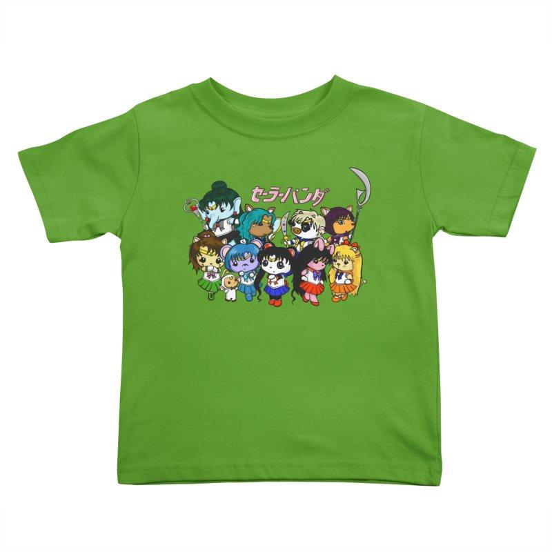 Sailor Panda and Friends Kids Toddler T-Shirt by Dino & Panda Inc Artist Shop