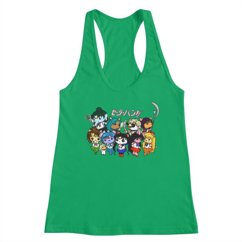 Sailor Panda and Friends Women's Tank by Dino & Panda Artist Shop