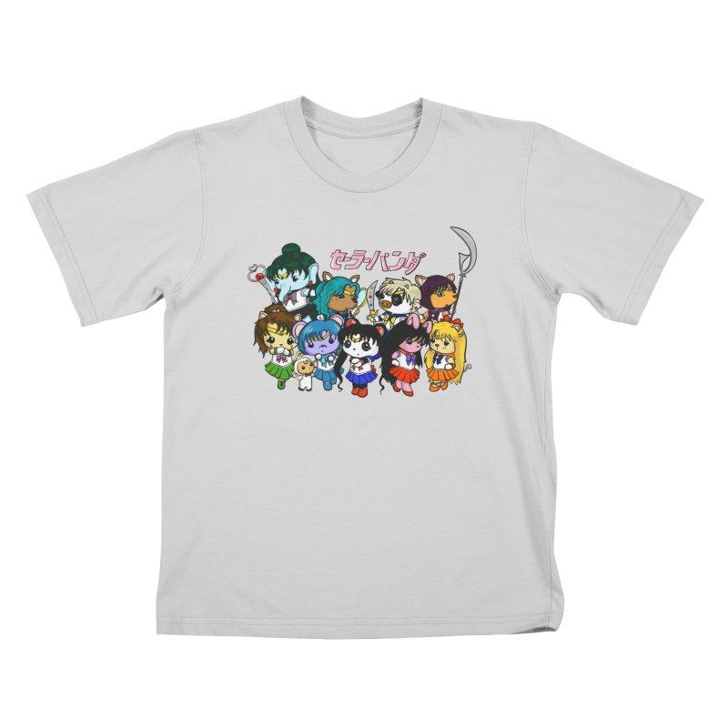 Sailor Panda and Friends Kids T-Shirt by Dino & Panda Inc Artist Shop