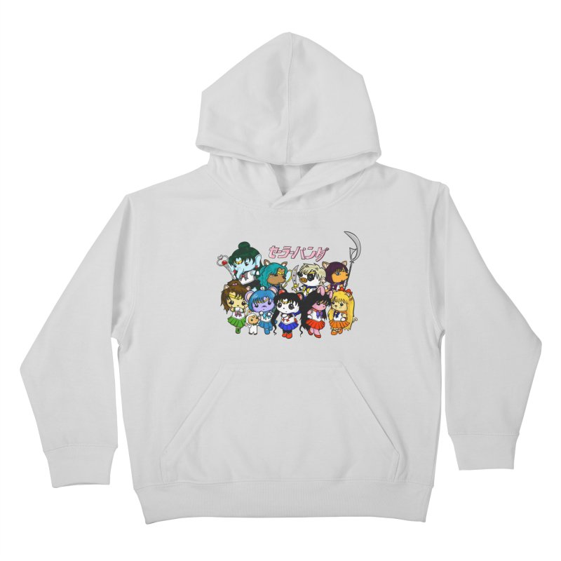 Sailor Panda and Friends Kids Pullover Hoody by Dino & Panda Inc Artist Shop