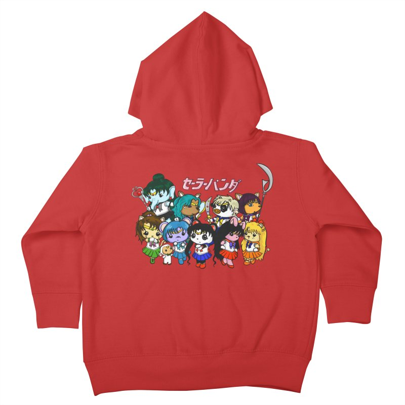 Sailor Panda and Friends Kids Toddler Zip-Up Hoody by Dino & Panda Artist Shop