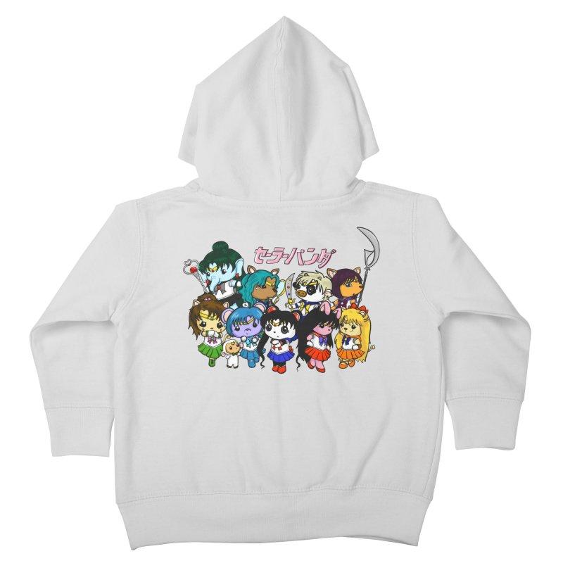 Sailor Panda and Friends Kids Toddler Zip-Up Hoody by Dino & Panda Inc Artist Shop