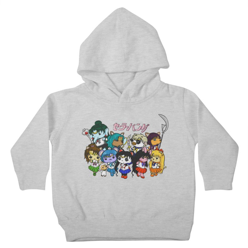 Sailor Panda and Friends Kids Toddler Pullover Hoody by Dino & Panda Inc Artist Shop
