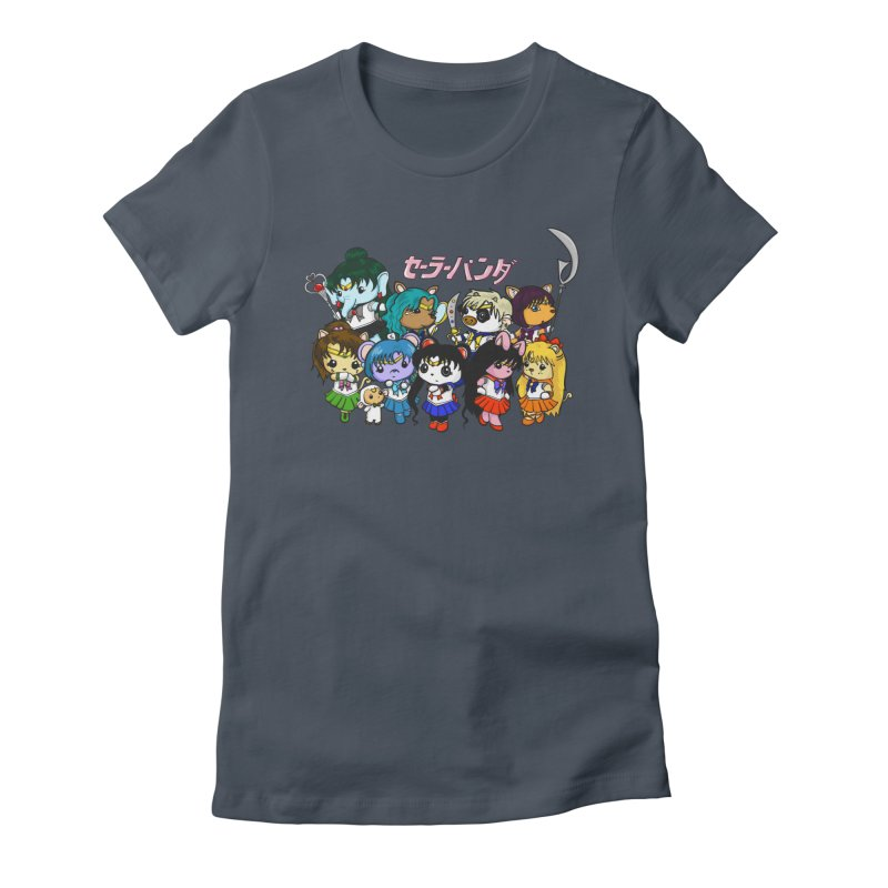 Sailor Panda and Friends Women's T-Shirt by Dino & Panda Artist Shop