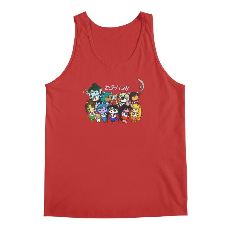 Sailor Panda and Friends Men's Regular Tank by Dino & Panda Inc Artist Shop