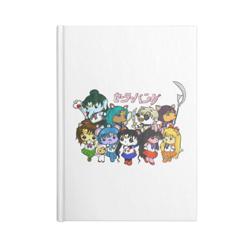 Sailor Panda and Friends Accessories Notebook by Dino & Panda Inc Artist Shop