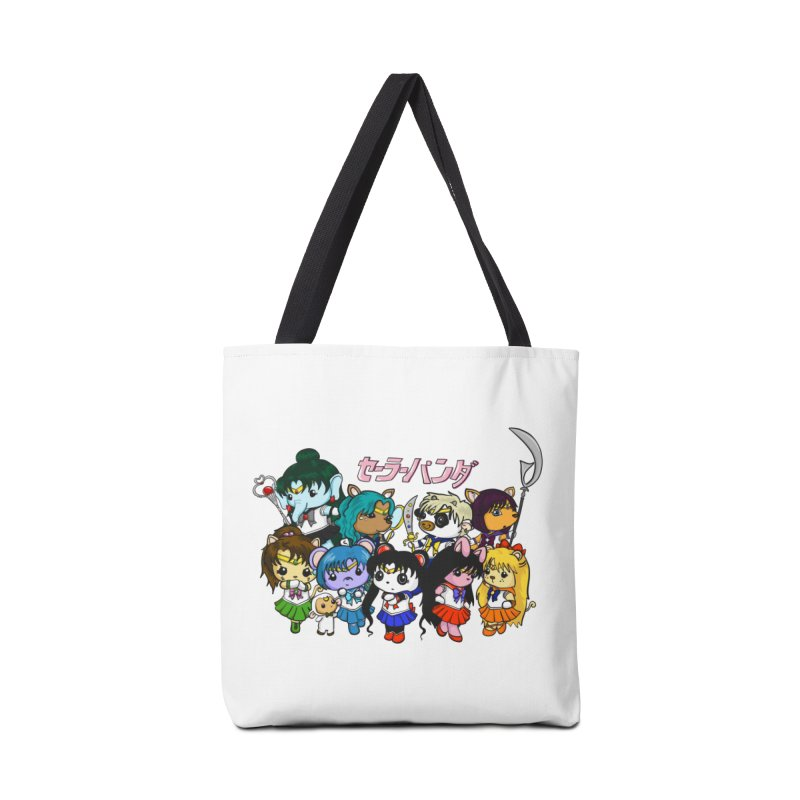 Sailor Panda and Friends Accessories Bag by Dino & Panda Inc Artist Shop