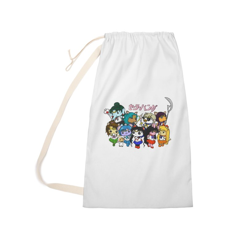 Sailor Panda and Friends Accessories Laundry Bag Bag by Dino & Panda Inc Artist Shop