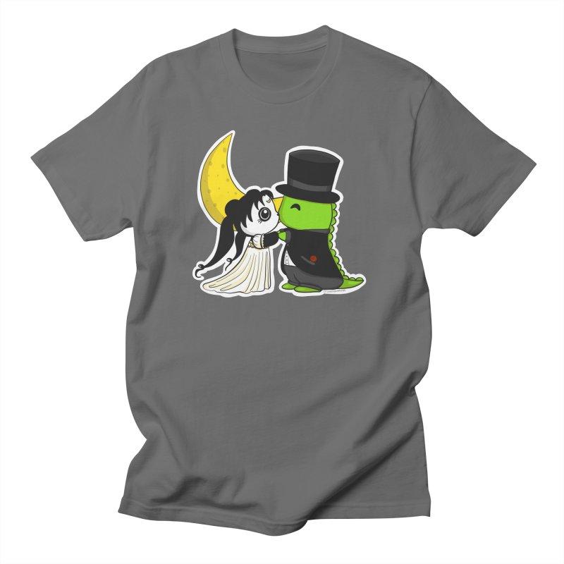 Princess Panda Serenity and Tuxedo Dino Men's T-Shirt by Dino & Panda Artist Shop