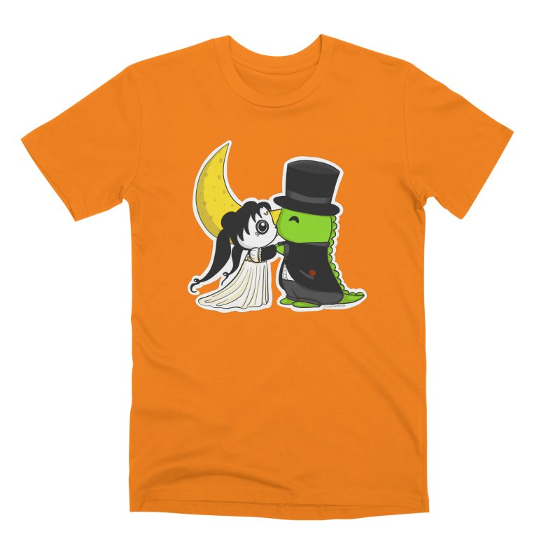 Princess Panda Serenity and Tuxedo Dino Men's Premium T-Shirt by Dino & Panda Inc Artist Shop