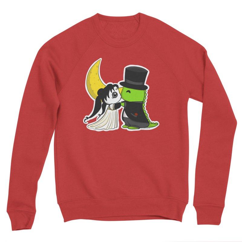Princess Panda Serenity and Tuxedo Dino Men's Sponge Fleece Sweatshirt by Dino & Panda Inc Artist Shop