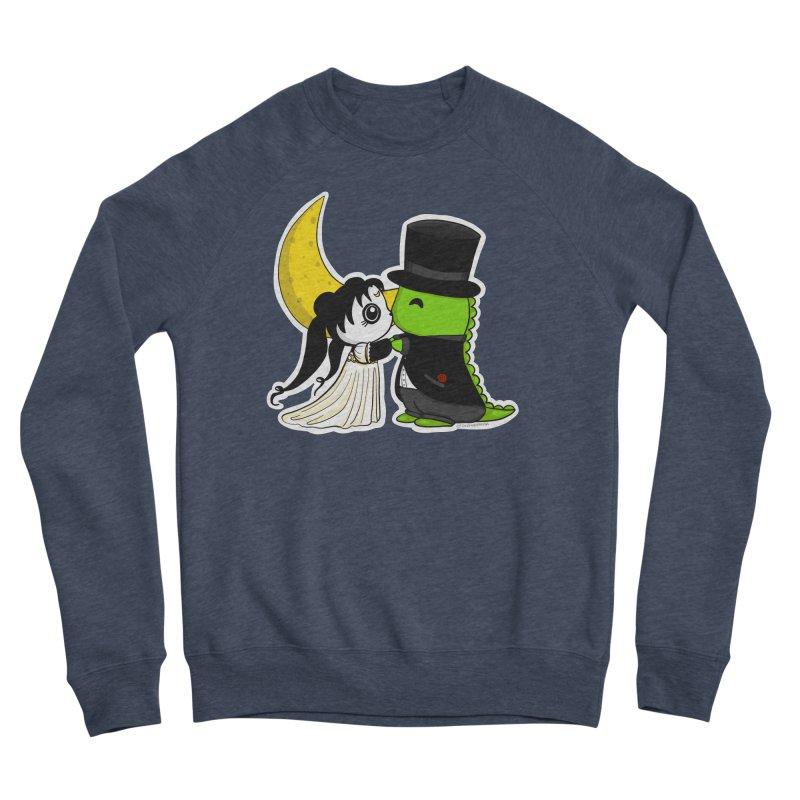 Princess Panda Serenity and Tuxedo Dino Women's Sponge Fleece Sweatshirt by Dino & Panda Inc Artist Shop