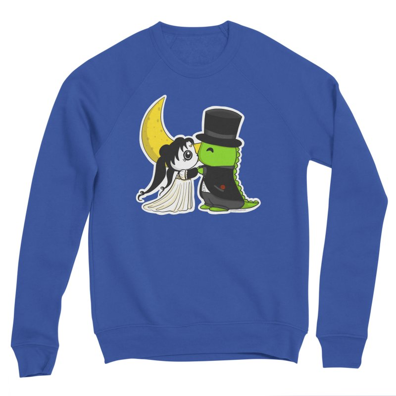 Princess Panda Serenity and Tuxedo Dino Men's Sweatshirt by Dino & Panda Artist Shop