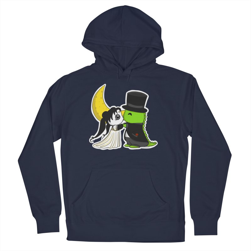 Princess Panda Serenity and Tuxedo Dino Men's Pullover Hoody by Dino & Panda Inc Artist Shop