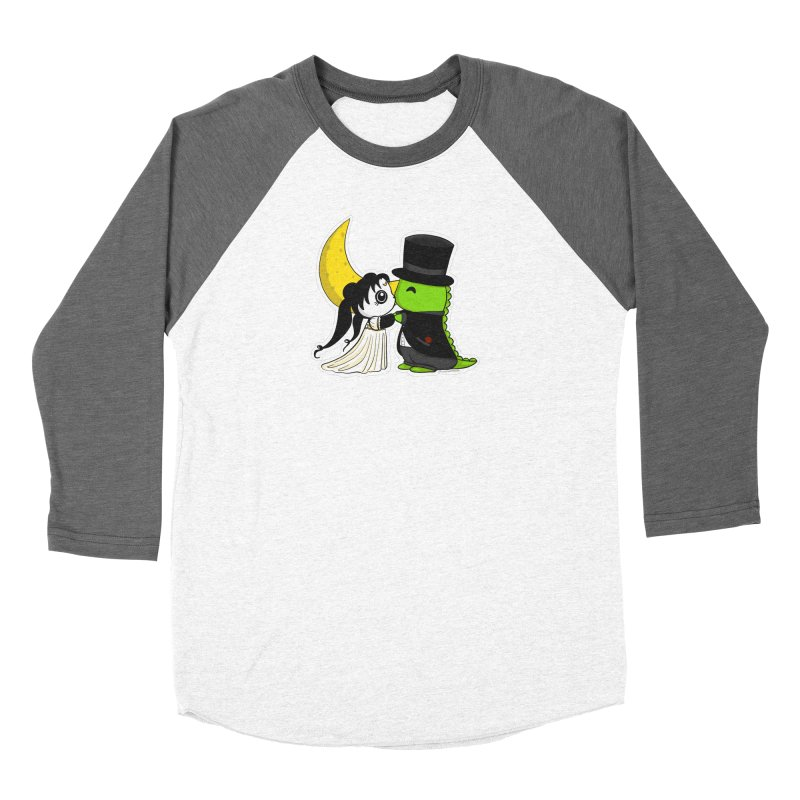 Princess Panda Serenity and Tuxedo Dino Women's Longsleeve T-Shirt by Dino & Panda Artist Shop