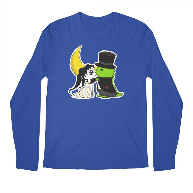 Princess Panda Serenity and Tuxedo Dino Men's Regular Longsleeve T-Shirt by Dino & Panda Inc Artist Shop