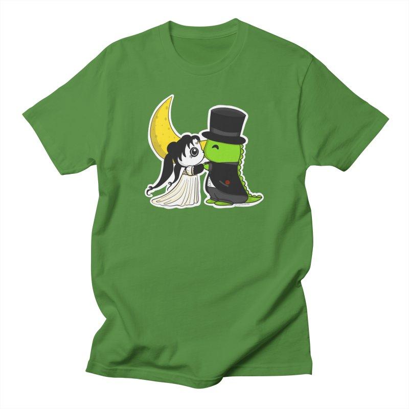 Princess Panda Serenity and Tuxedo Dino Men's Regular T-Shirt by Dino & Panda Inc Artist Shop