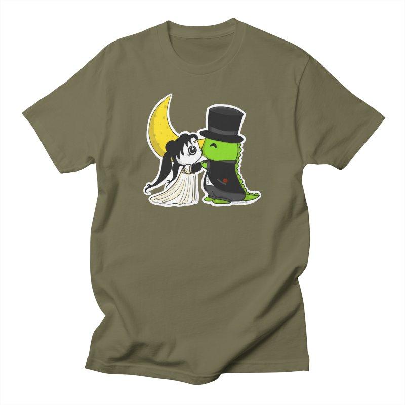 Princess Panda Serenity and Tuxedo Dino Women's Regular Unisex T-Shirt by Dino & Panda Inc Artist Shop