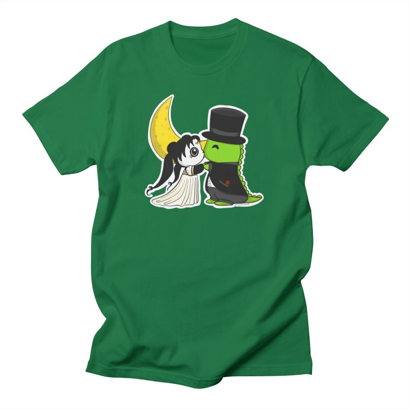 Princess Panda Serenity and Tuxedo Dino Men's Regular T-Shirt by Dino & Panda Inc Artist Shop
