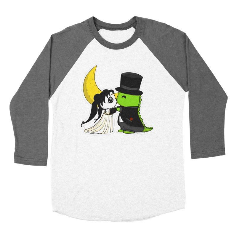 Princess Panda Serenity and Tuxedo Dino Women's Longsleeve T-Shirt by Dino & Panda Inc Artist Shop