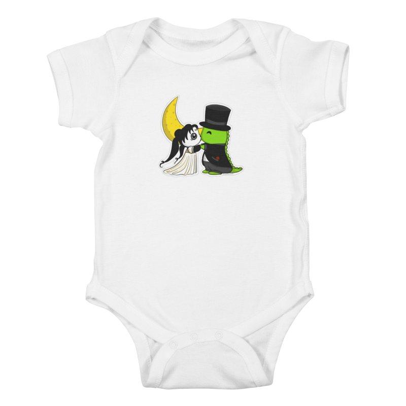 Princess Panda Serenity and Tuxedo Dino Kids Baby Bodysuit by Dino & Panda Inc Artist Shop