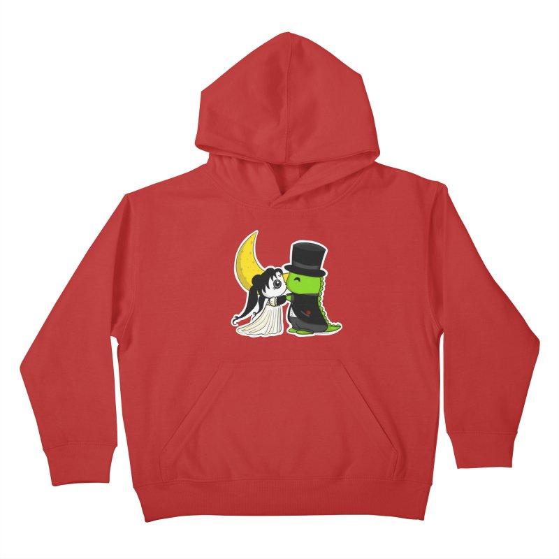 Princess Panda Serenity and Tuxedo Dino Kids Pullover Hoody by Dino & Panda Inc Artist Shop