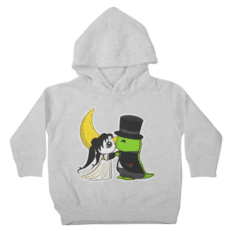 Princess Panda Serenity and Tuxedo Dino Kids Toddler Pullover Hoody by Dino & Panda Inc Artist Shop