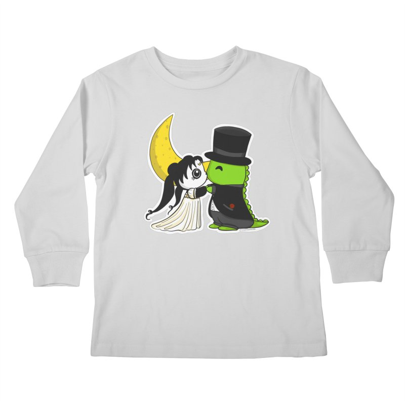 Princess Panda Serenity and Tuxedo Dino Kids Longsleeve T-Shirt by Dino & Panda Inc Artist Shop