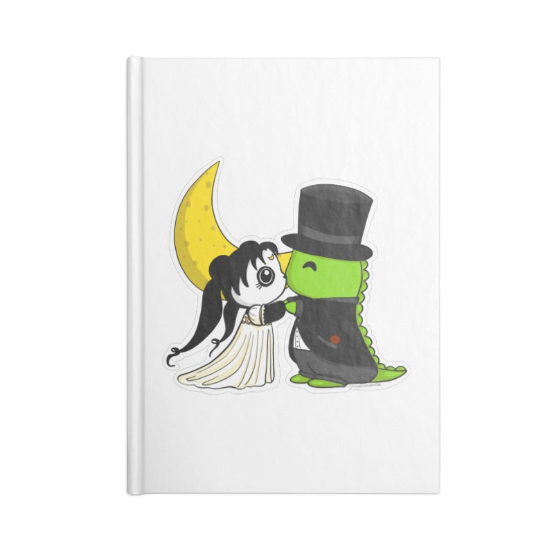 Princess Panda Serenity and Tuxedo Dino Accessories Lined Journal Notebook by Dino & Panda Inc Artist Shop