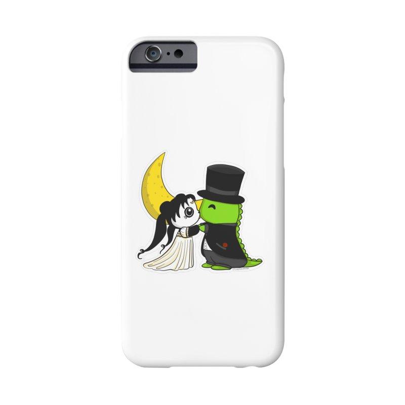 Princess Panda Serenity and Tuxedo Dino Accessories Phone Case by Dino & Panda Inc Artist Shop
