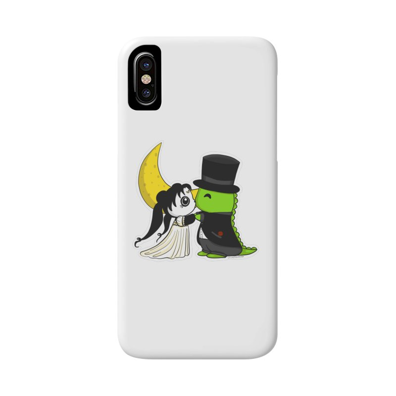 Princess Panda Serenity and Tuxedo Dino Accessories Phone Case by Dino & Panda Inc Artist Shop