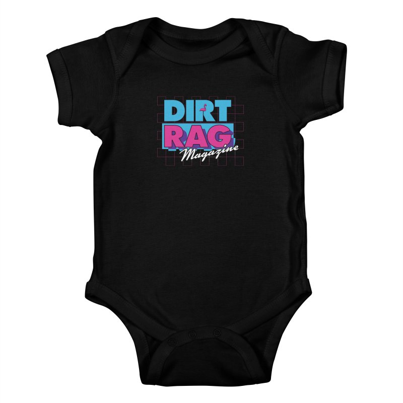 Dirt Rag Vice Kids Baby Bodysuit by Dirt Rag Magazine's Shop