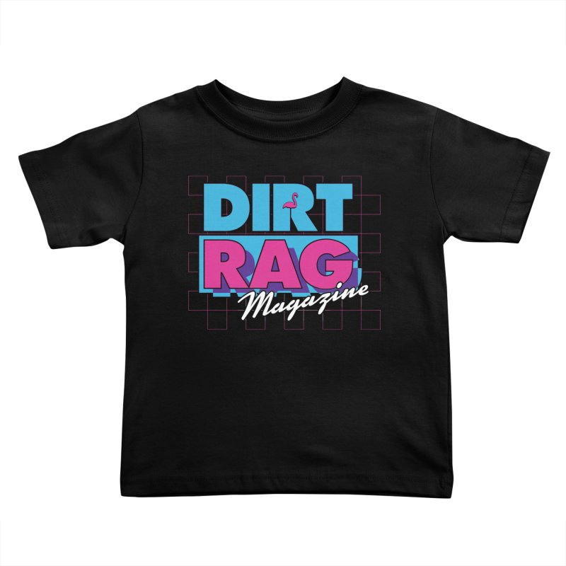 Dirt Rag Vice Kids Toddler T-Shirt by Dirt Rag Magazine's Shop