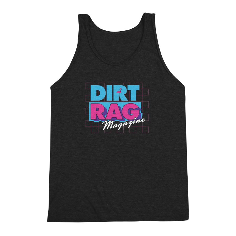 Dirt Rag Vice Men's Triblend Tank by Dirt Rag Magazine's Shop