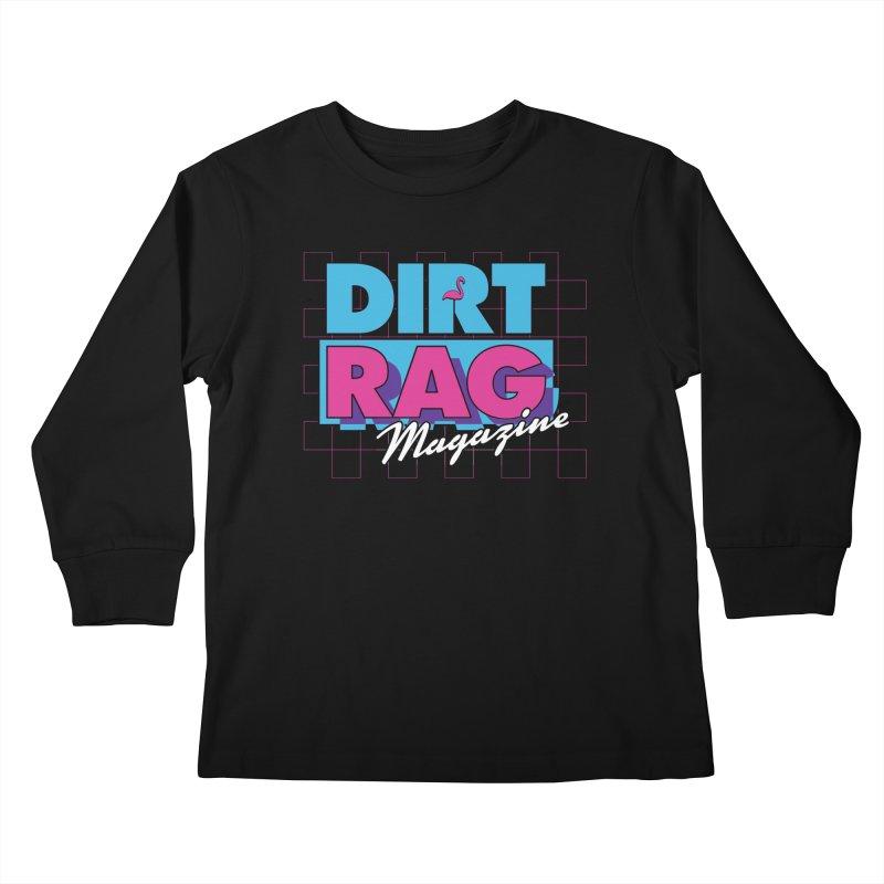 Dirt Rag Vice Kids Longsleeve T-Shirt by Dirt Rag Magazine's Shop