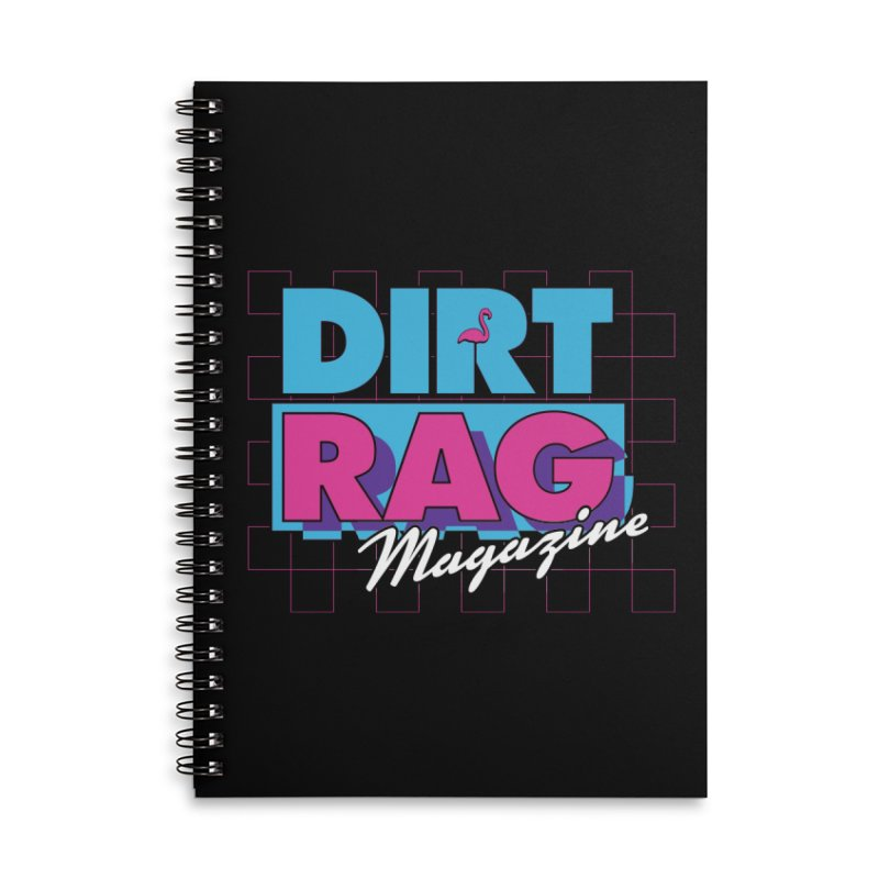 Dirt Rag Vice Accessories Lined Spiral Notebook by Dirt Rag Magazine's Shop