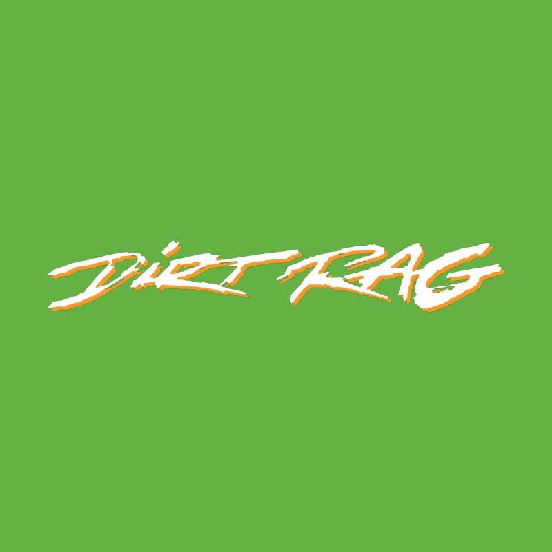 Dirt Rag Script White & Orange by Dirt Rag Magazine's Shop
