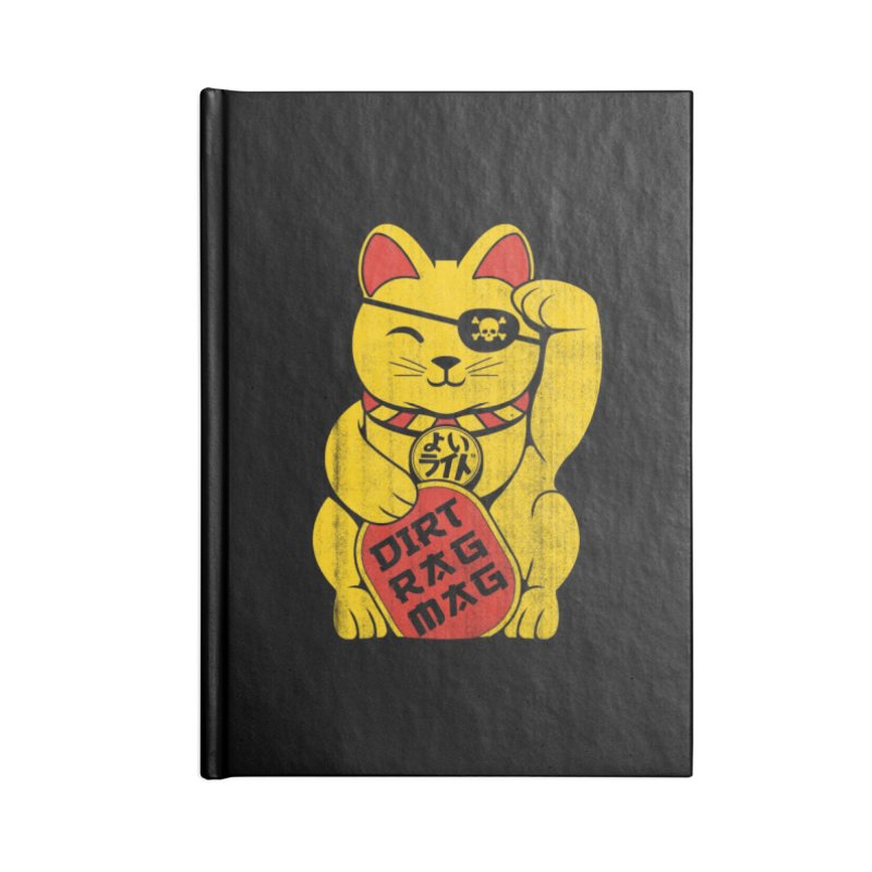 Dirt Rag Lucky Cat Accessories Notebook by Dirt Rag Magazine's Shop