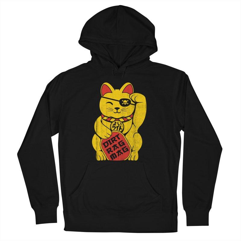 Dirt Rag Lucky Cat Men's Pullover Hoody by Dirt Rag Magazine's Shop