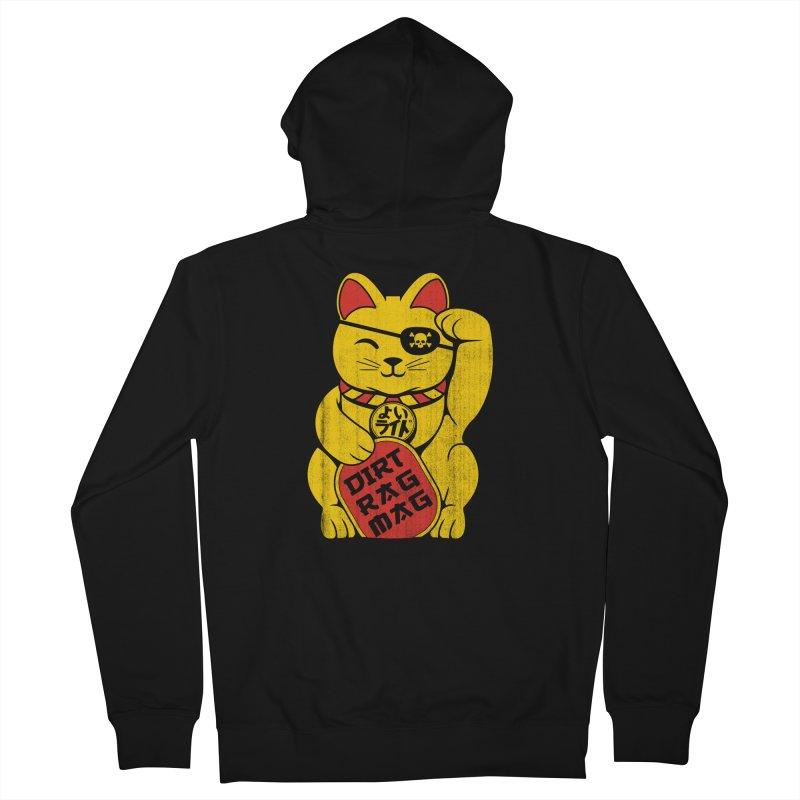 Dirt Rag Lucky Cat Women's Zip-Up Hoody by Dirt Rag Magazine's Shop