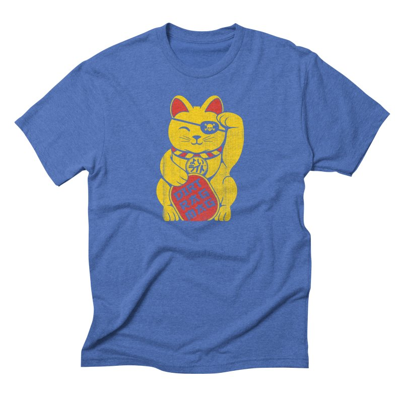 Dirt Rag Lucky Cat Men's T-Shirt by Dirt Rag Magazine's Shop
