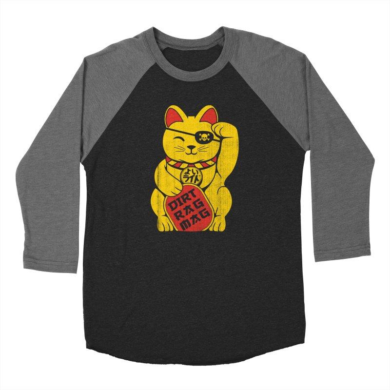 Dirt Rag Lucky Cat Men's Longsleeve T-Shirt by Dirt Rag Magazine's Shop
