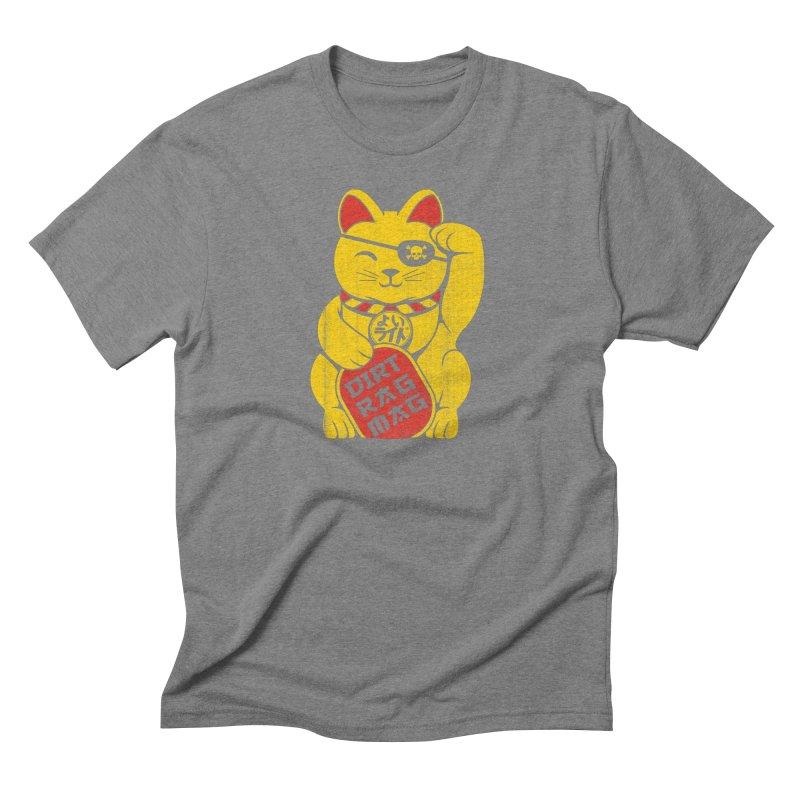 Dirt Rag Lucky Cat Men's Triblend T-Shirt by Dirt Rag Magazine's Shop