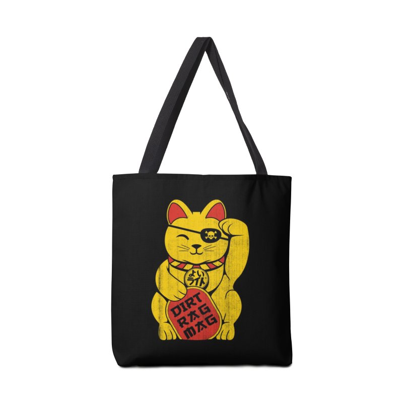 Dirt Rag Lucky Cat Accessories Tote Bag Bag by Dirt Rag Magazine's Shop
