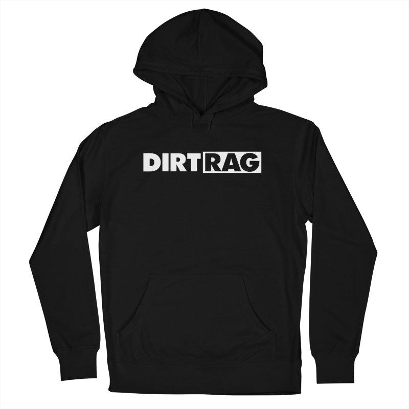 Dirt Rag Logo White Men's Pullover Hoody by Dirt Rag Magazine's Shop