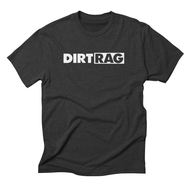 Dirt Rag Logo White Men's Triblend T-Shirt by Dirt Rag Magazine's Shop